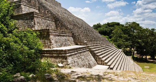 Visit Uxmal on your trip to Mexico