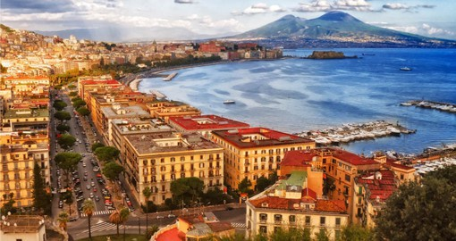 Naples, Southern Italy's largest city is renown for it's  Opera Houses and Theaters