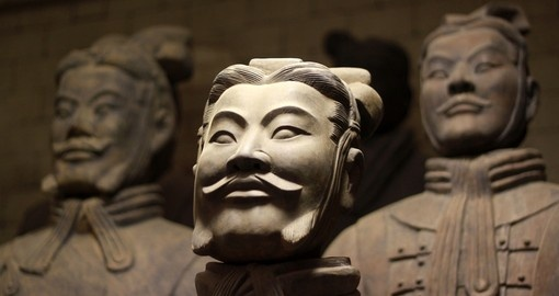 The famous terracotta warriors is a must inclusion on all China tours.