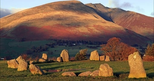 Discover Mysterious Castlerigg Stone Circle on your next trip to Scotland.