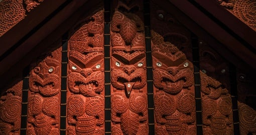 Maori Wooden Carvings