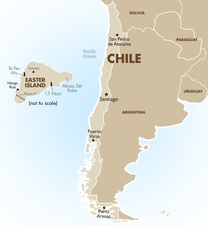 Chile Destination Map
