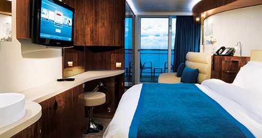The Balcony Stateroom on the Norwegian Epic