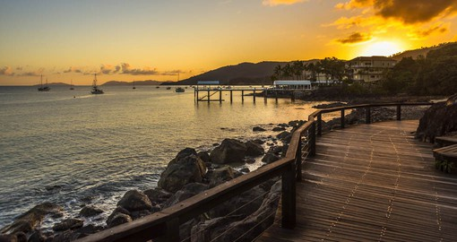 Airlie Beach is the vibrant hub of the Whitsundays
