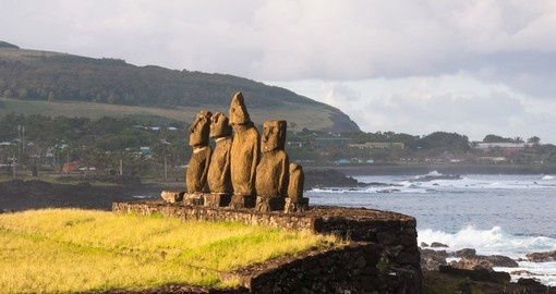 See mysterious Easter Island on your Chile Vacation