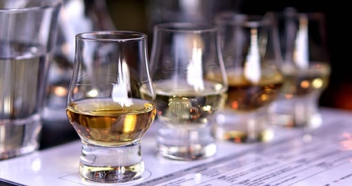 Sample good Highland's whiskey on your Scotland vacation