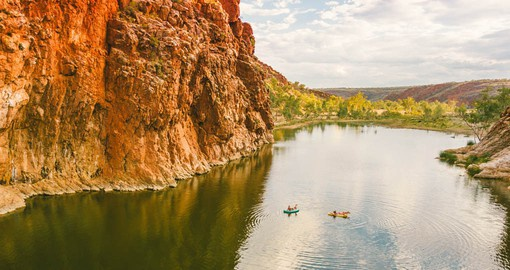Explore the gorges of the Northern Territory.  Image courtesy Tourism NT