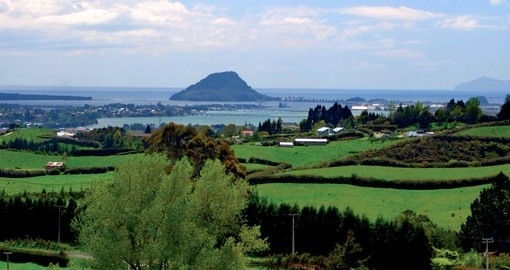 Visit the natural wonder known as Mount Maunganui during your New Zealand Vacation.