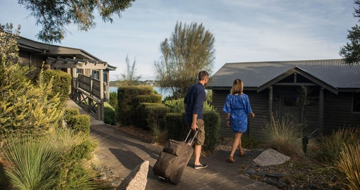 Freycinet Lodge cabin