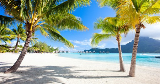 Spend a little time on the beach during your Bora Bora Vacation