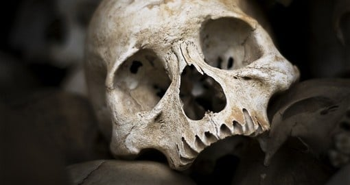 Visit the sobering killing fields near Phnom Penh on your Cambodia Tour