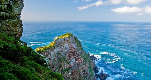 View from Cape of Good Hope provides stunning scenery while on your South African safari.
