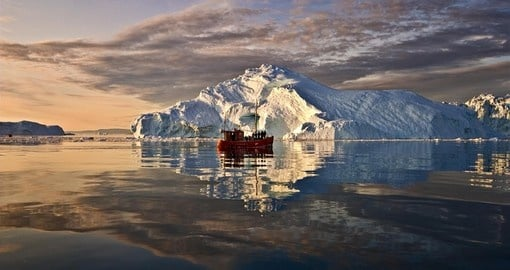 Visit Greenland during your trip to Iceland