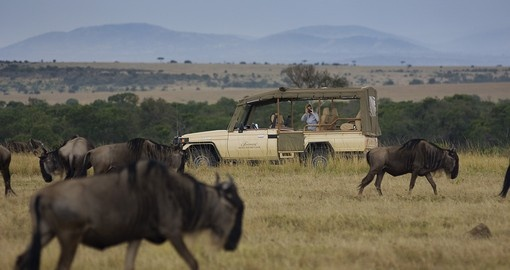 Experience Fairmount Safari Club game drive on your next trip to Kenya.