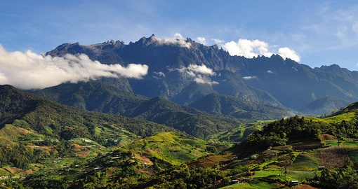Drive up to the great Mount Kinabalu which is completely surrounded by forests and hillside on a Malaysia Tour