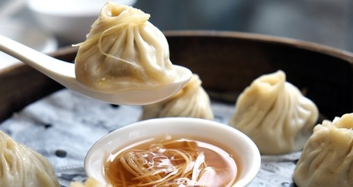 Sample delicious dumplings on your China vacation