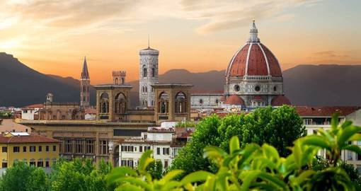 The capital of Tuscany, Florence was the birthplace of the Italian Renaissance
