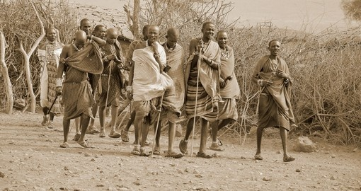 Masai tribesmen are always a highlight on your Kenya safari.