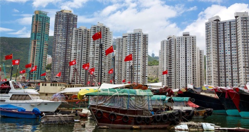 Make a visit to the Floating Village part of your Hong Kong vacation