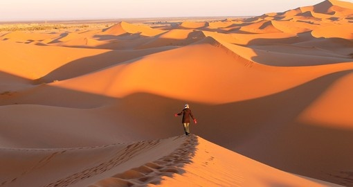 Merzouga desert - Photo credit Robin Smulders