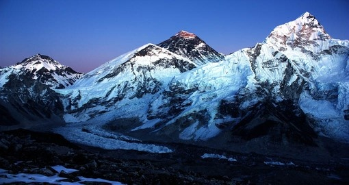 Mount Everest and Nuptse a highlight of any trip to Nepal