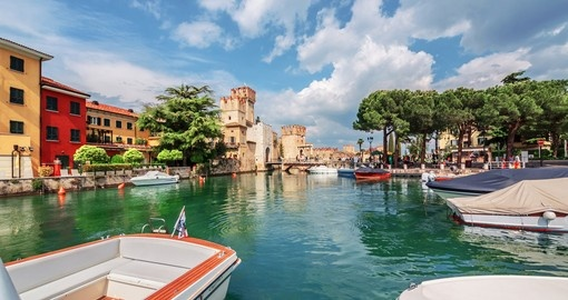 Gorgeous Lake Garda will be next on your Italy tours.