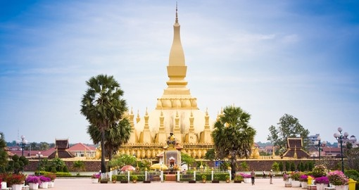 Patuxai in Vientiane is always a popular photo opportunity while on your Laos tour.