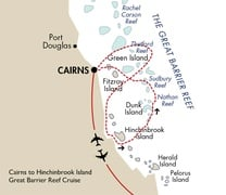 Cairns to Hinchinbrook Island Great Barrier Reef Cruise