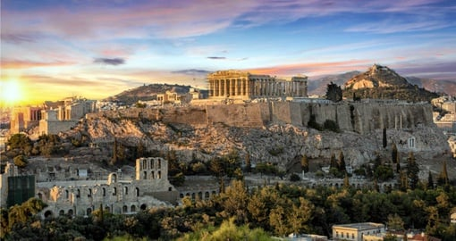 Experience The Parthenon Temple at the acropolis of Athens during your next trip to Greece.