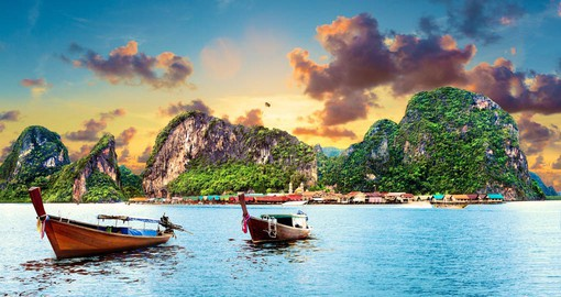 Thailand's largest island, Phuket features white sand beaches and a rich cultural heritage