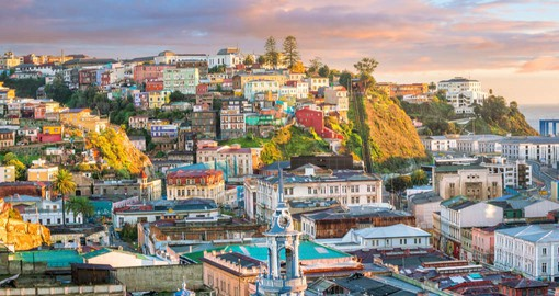Valparaiso's maze of hills is colourful and bohemian
