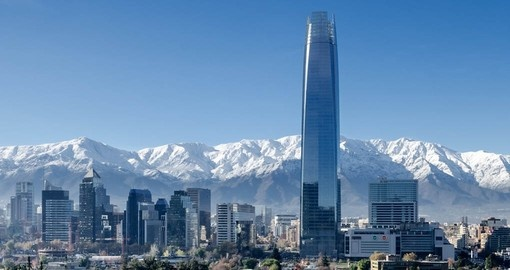 Your Chile Vacation starts in the capital city of Santiago