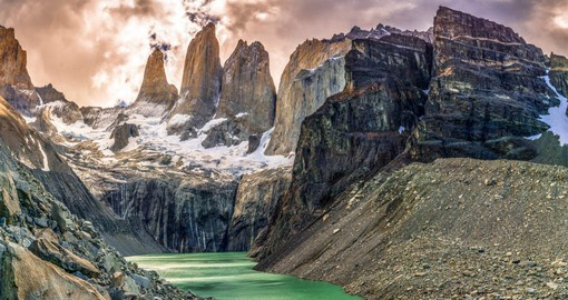 Visit the inspiring Paines of Torres National Park on your travel to Chile