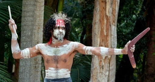 Learn to throw a boomerang by an aboriginal warrior while on your Australia tour.