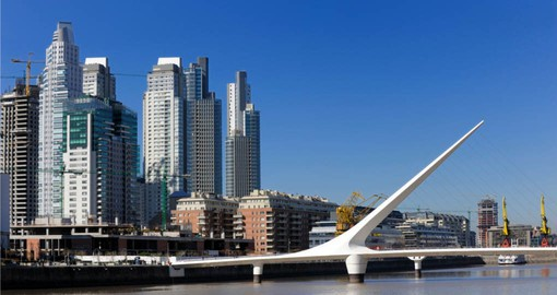 Take a stroll in Puerto Madero on your Argentina Vacation