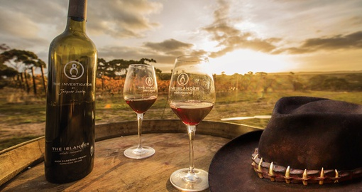 Visit the estate vineyards and enjoy a glass of traditional New Zealand red wine on your Trip to New Zealand.