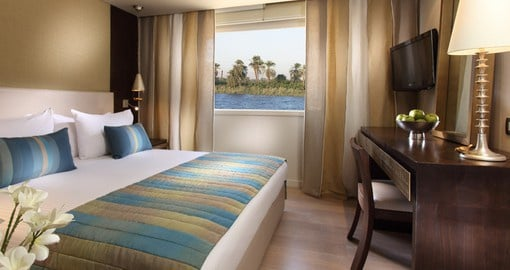 Nile Adventurer - Standard Cabin
