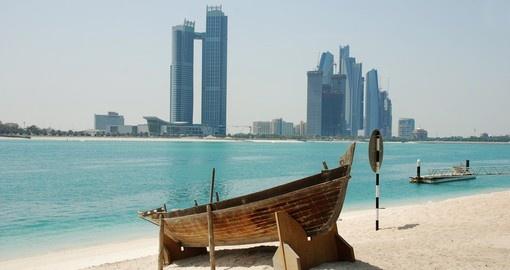 Visit Beach and City during your next Abu Dhabi vacations.