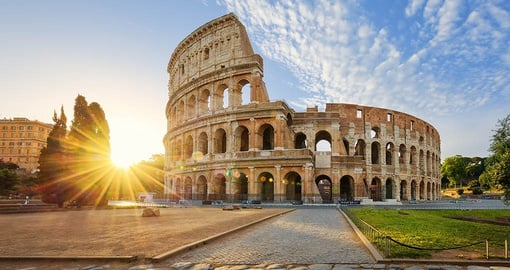 Discover the Colosseum on your Italy vacation