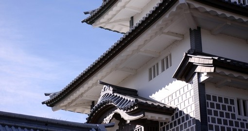 Japanese castle architecture