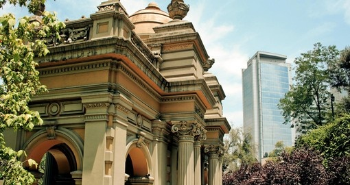 Explore Santiago the capital city of Chile on your next South America vacations.