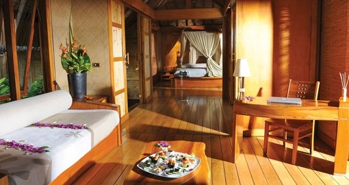 Explore all the amazing amenities of the Le Tahaa Resort during your next Tahiti tours.