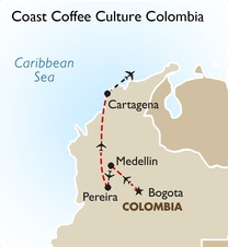 Coast Coffee Culture Colombia