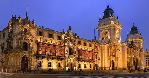 Visit the Archbishop's Palace in Lima on your Peru Vacation