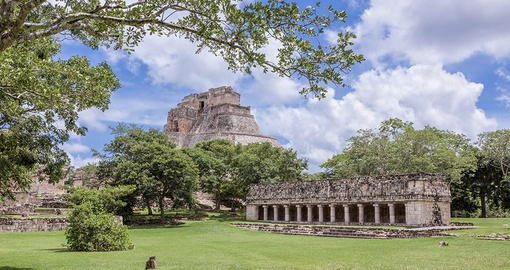 Explore ancient Uxmal on your trip to Mexico