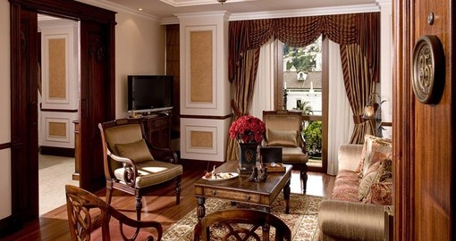 Classic Colonial styled rooms