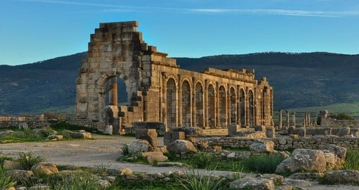 Ruins of an Ancient Roman City, Volubilis