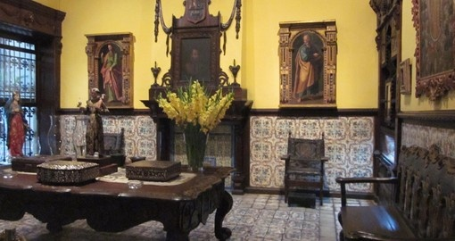 Casa Aliaga – the oldest residence in Peru