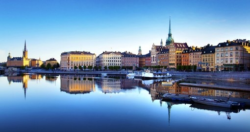 Stockholm - the starting point of most Sweden vacations,
