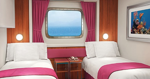 The Oceanview Stateroom on the Norwegian Jewel